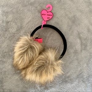 Betsey Johnson earmuffs
